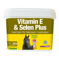Vitamin E & Selin Plus
